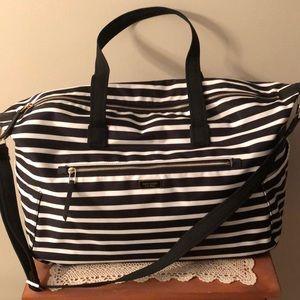 NWT-kate spade weekender-dawn sailing stripe bag
